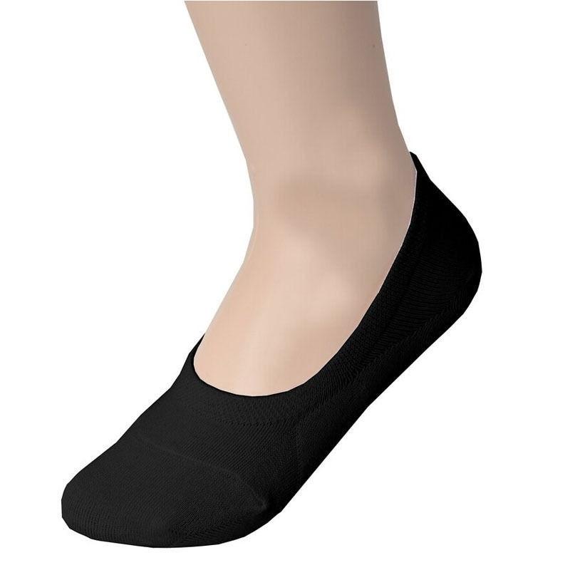Sock Slippers Fine Womens Bamboo Fiber Loafer Boat Socks Liner Low Cut No Show Socks Sock Black Hottest