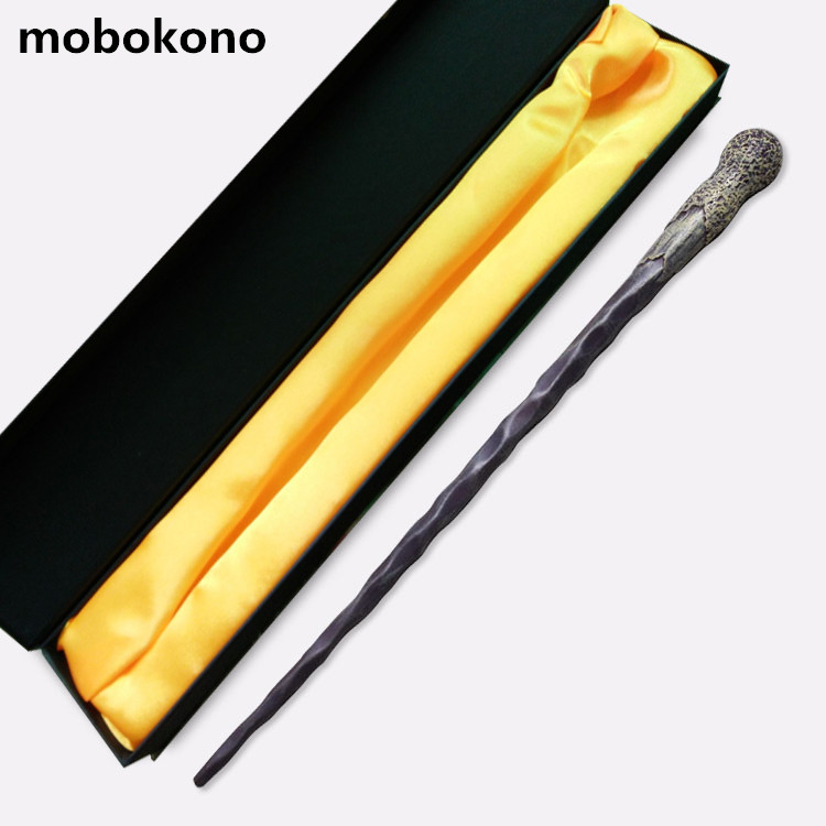mobokono New Top Quality Harry Potter Magic Wand Ron Weasley With Gift Box Cosplay Game Prop Collection Series Toy Stick high quality best price harry potter magic wand kids cosplay stage magic tricks sticks children toys harry potter magical wand