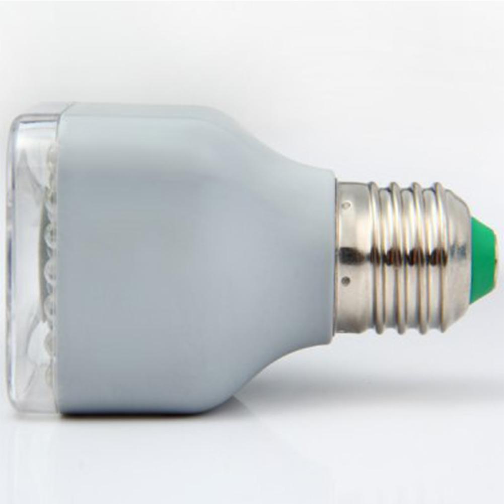 LumiParty 220-240V E27 LED Night Light PIR Sensor Human Body Induction Corridor Passageway Toilet Lamp Decoration