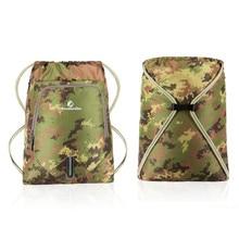 ANMEILU Brand Nylon Drawstring Bag  Sports Simple 6 Colors Backpack Walking Pack Storage Bags 12L Beach Gym Swimming Pool