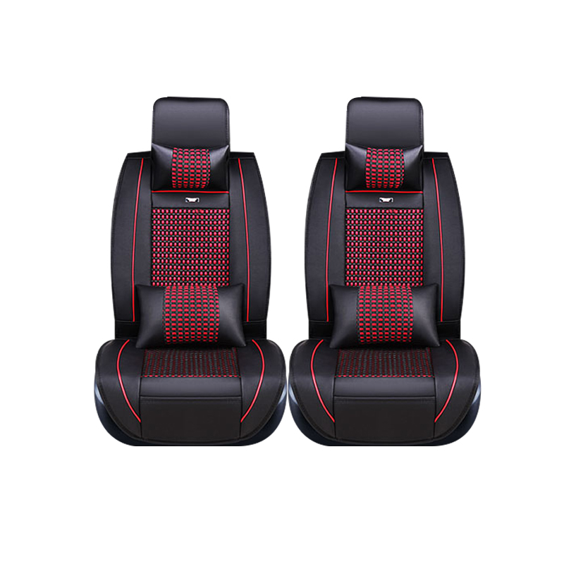only 2 front seat Special leather car seat covers For Ford mondeo Focus Fiesta Edge Explorer Taurus S-MAX auto accessories styli