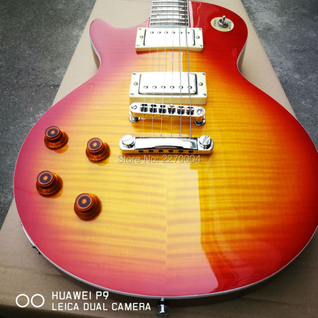 1959 custom left-hand LP electric guitar, great guitar, guitar's original image, free shipping 1