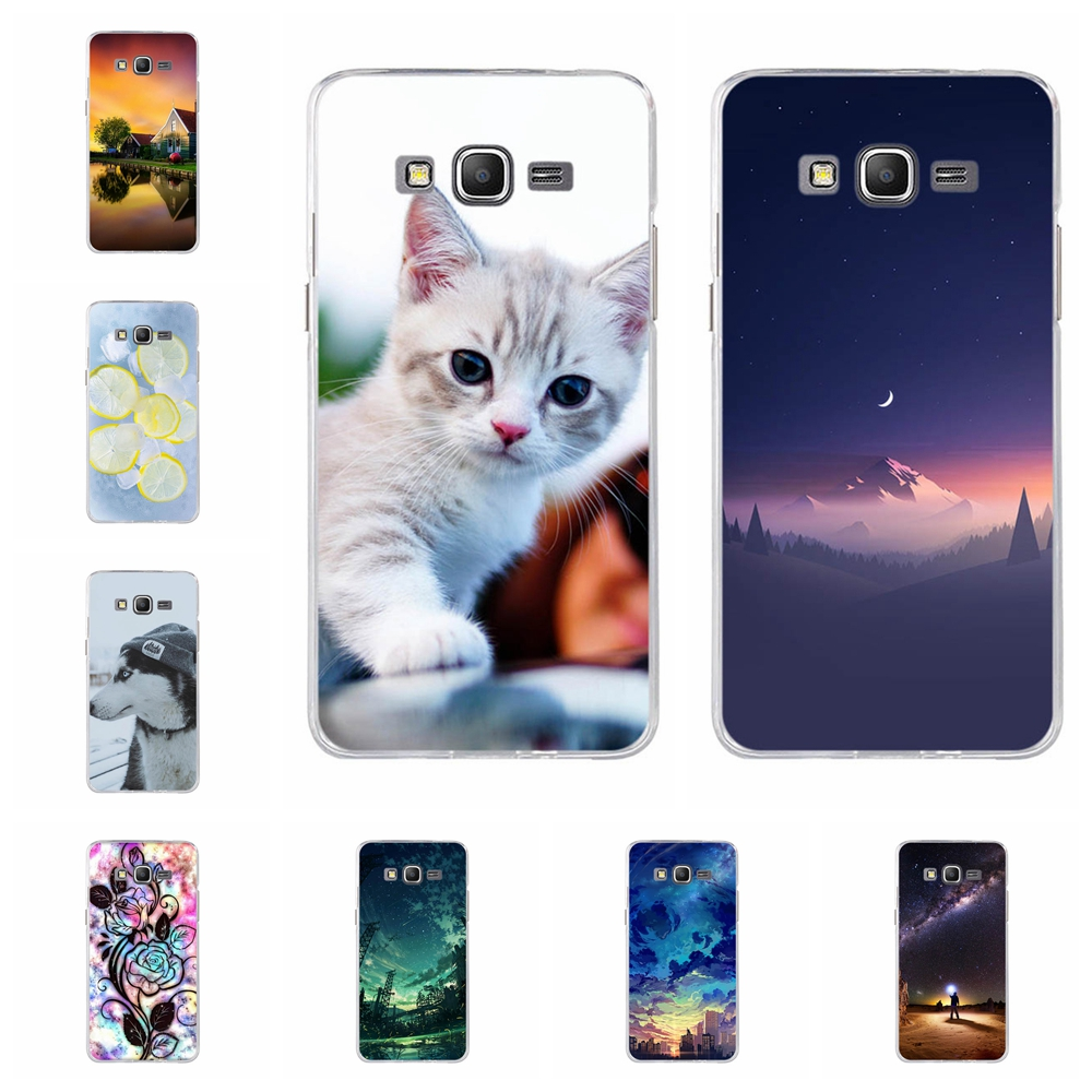 For Samsung Galaxy Grand Prime Cover TPU G530 G5308W Case Dog Pattern Bag