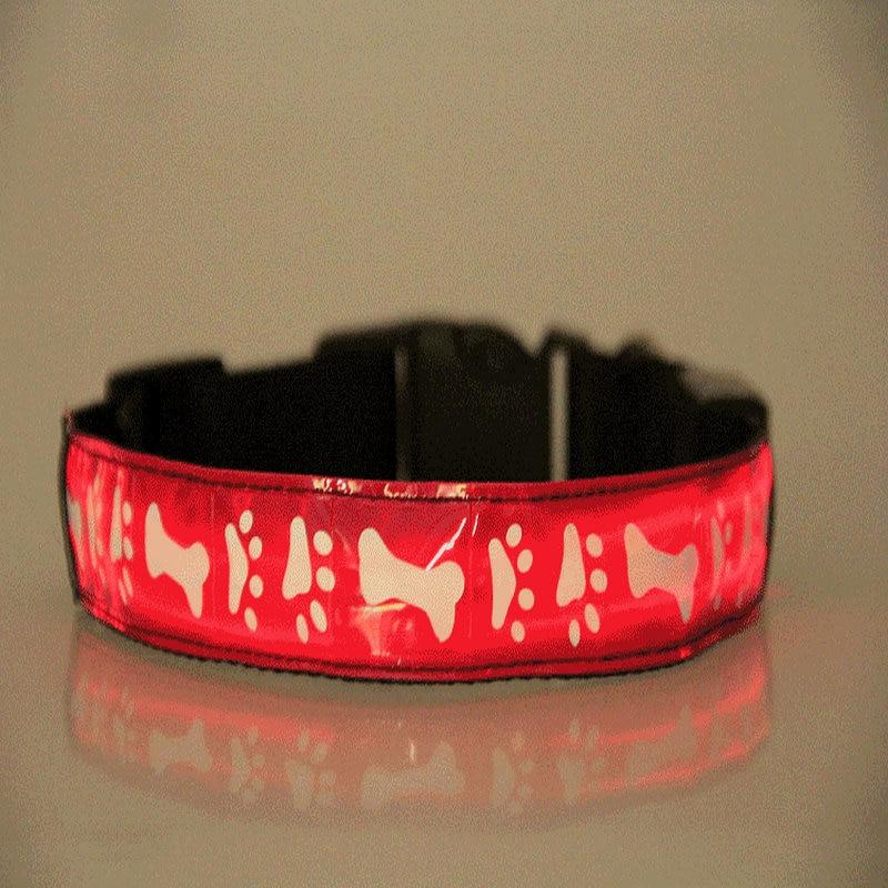 3606 hot Dog Forniture luci Collari, imbracature cane incandescente collare cani di moda prodotto Dell'animale Domestico della trazione