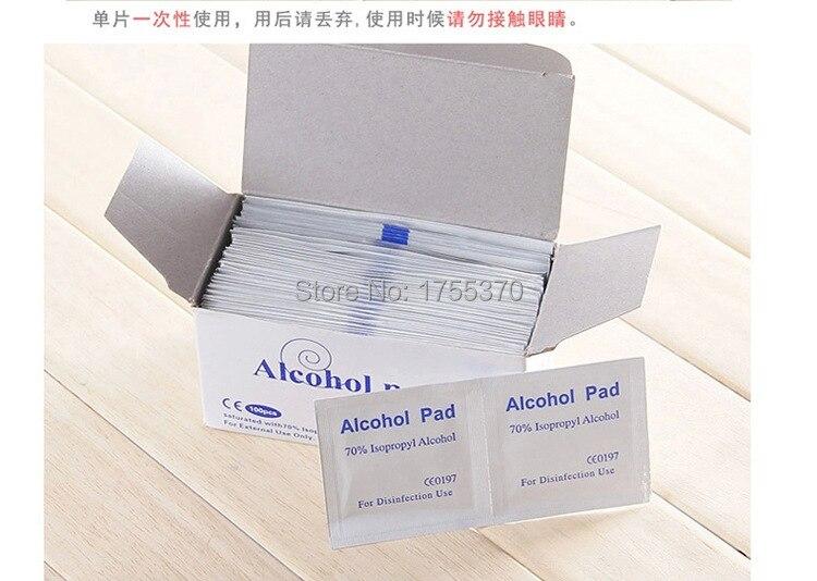 36 pz Antiphlogosis isopropilil tampone di alcol tampone pezzo pulire antisettico pulizia della pelle cura pronto soccorso