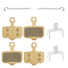4 Pairs Full-Metal Bike Disc Brake Pads For SRAM XO / XX1/ Elixir 1/3/5/7/9 DB1 DB3 DB5 R CR CR-MAG