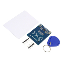 RFID Module RC522 Kits 13.56 Mhz 6cm with Tags SPI Write & Read for arduino Compatible with UNO MEGA 2560(China)