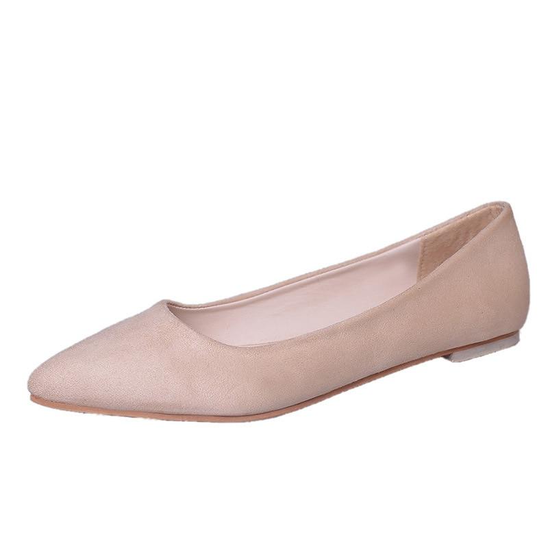 Damen pink black Für Flache Beige Frauen Spitz Designer 2018 Beiläufige Schuh Schuhe Frau green Faulenzer Luxus vZ4gHqf