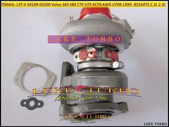 Free Ship Turbocharger TD04HL TD04HL-13T 49189-05202 8658098 8602396 Turbo For VOLVO S60 S80 C70 V70 XC70 V70N B5244T3 2.3L 2.4L