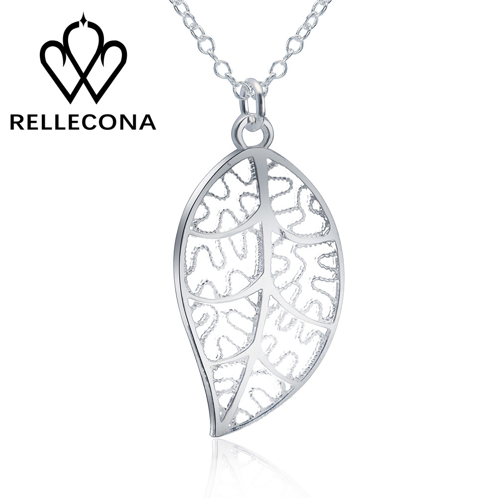 RELLECONA Life Tree 925 sterling silver chain necklace