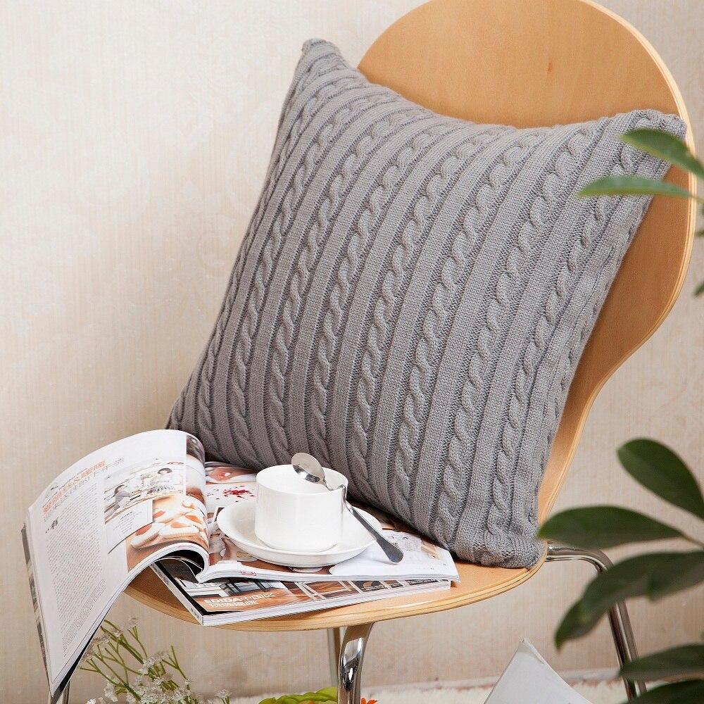 Moderne Minimalismus Kissenbezüge Seitige Woolen Dekorative ...