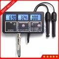 PHT-116 5 в 1 Цифровой измеритель PH цена многопараметрическое оборудование для мониторинга качества воды с Temp PH EC CF TDS тестер анализатор
