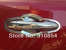 8 шт./компл. хром стайлинга автомобилей Внешний Авто Боковая дверь ручка крышки декоративная Накладка для Toyota RAV4 2013 2014 XA40 2013 2014