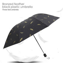 Portable Umbrella Sun Folding Manual Outdoor Children Gifts Windproof