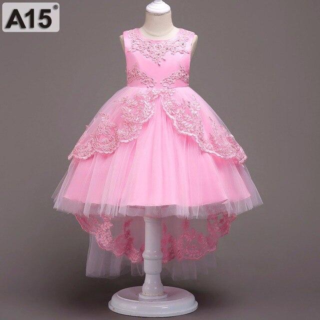 b322f50c6b1ac A15 D été Enfants Robes pour les Filles Enfants Formelle Usure Princesse  Robe pour fille