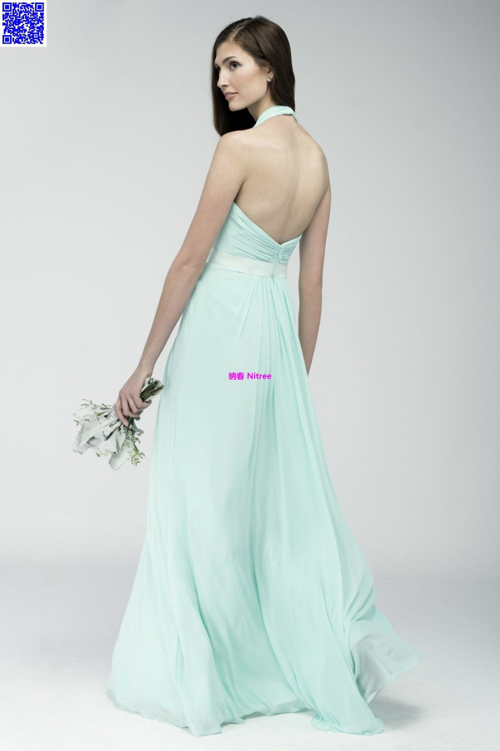 Nitree Cheap Green Bridesmaid dress Party Gown Fashion Collection Unique  Sexy Luxury Designer Celebrity Romantic Spring 2015 New-in Bridesmaid  Dresses from ... 6027b4581cec