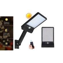 remote control rotate bracket solar street light Newest 500 LM 48 LED Solar Power Street Light PIR Motion Sensor wall Lamp Outdo