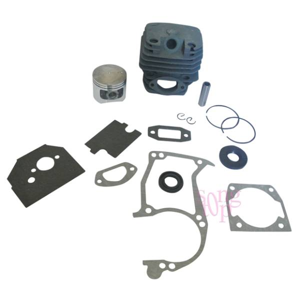 NEW 45MM CYLINDER PISTON   FULL GASKET SET FIT CHINESE CHAINSAW 5200 52CC  TAURUS 5a85ab3d8adc2