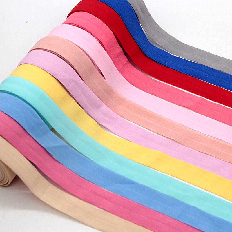 Banda de goma de 20mm, banda elástica de 2cm para ropa interior, pantalones, sujetador, ropa de goma, cintura suave ajustable elástica de 20mm y 5m