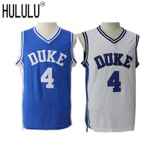 88403668f Men Cheap Duke University Blue Devils J.J. Redick Jerseys 4  Throwback  Stitched Retro Top Quality Basketball Shirts Blue White