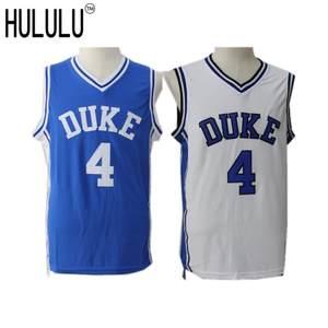 Men Cheap Duke University Blue Devils J.J. Redick Jerseys 4  Throwback  Stitched Retro Top Quality Basketball Shirts Blue White 178205671