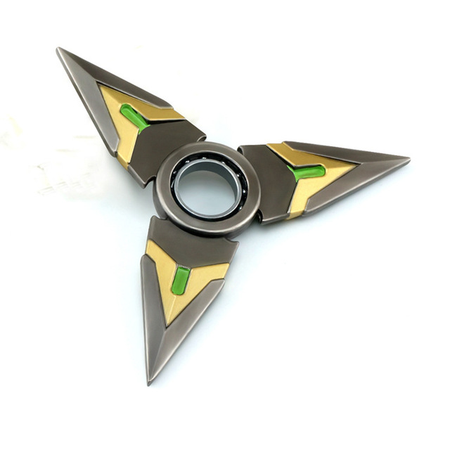Shurikens Darts Weapons Cosplay Zinc Rotated Souvenir Alloy Collection Action Figure Toys