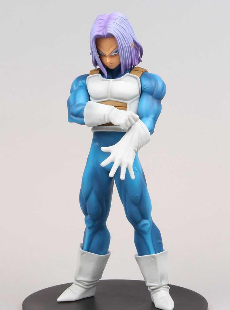 Figura Dragonball Dragon Ball Z Resolução de Soldados Volume 5 Figura Troncos Troncos de Futuro Quinto figura de Ação Brinquedos