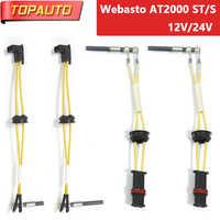 Cerâmica Pin Glow Plug Para Webasto Ar Top 2000 ª/S 12 V/24 V Diesel Aquecedor de Estacionamento para 1322420A 1322411A 1322415A 1322408A