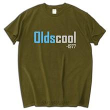 40th Birthday Tshirt Add Custom Date Oldscool 1977 Tee Shirt Personalized Gift For Boyfriend