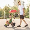 Lebas triciclo crianças bicicleta do miúdo para 12m-5 anos passeio do bebê no carrinho de criança