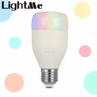 New Popular AC 100 240V E27 6W WiFi Smart Bulb Smartphone Controlled Party Lights Support 16