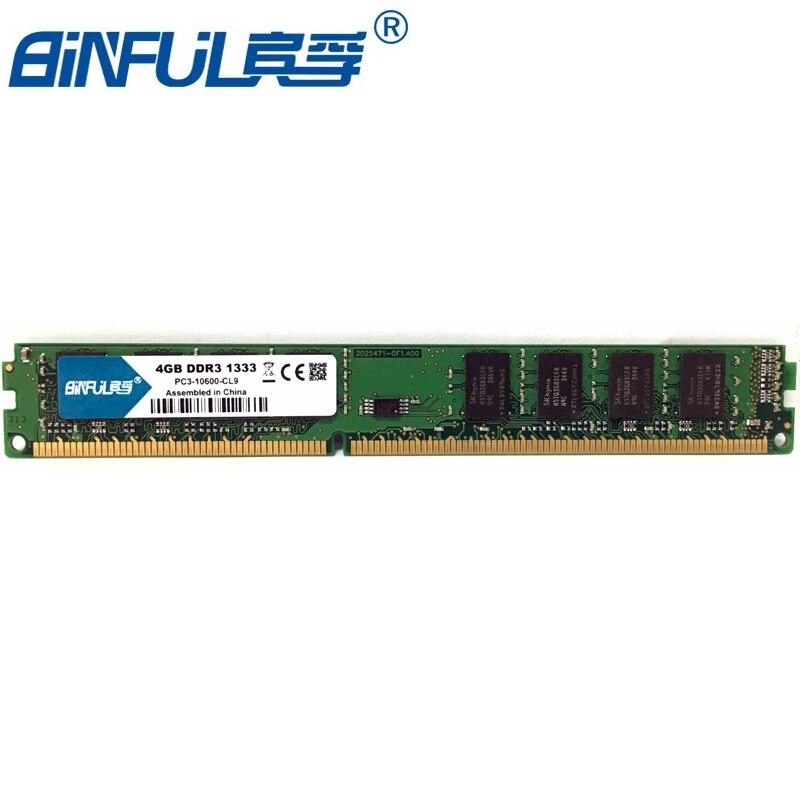 PC Mémoire RAM Memoria Module Ordinateur De Bureau 4 gb PC3 DDR3 12800 10600 1333 mhz 1600 mhz 4g 1333 1600 mhz RAM