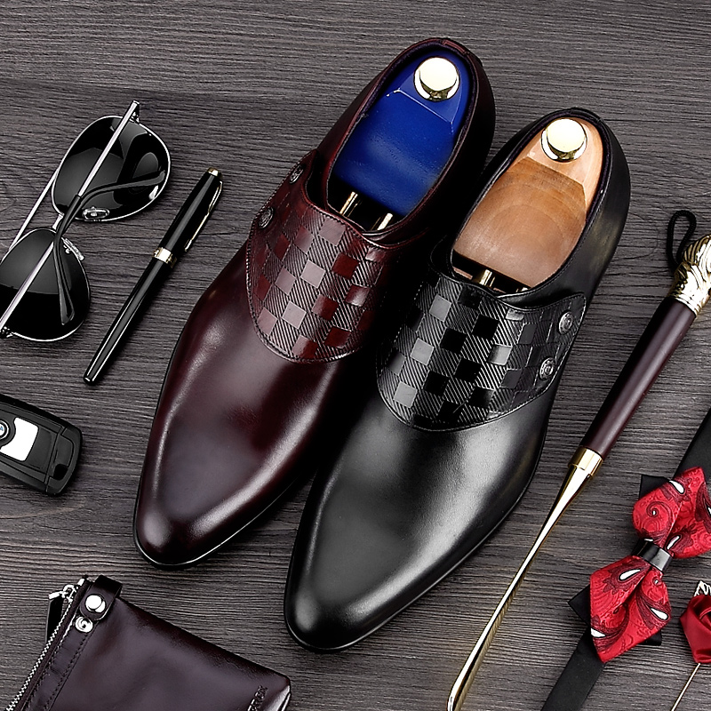 luxury round toe breathable man formal dress shoes genuine leather derby carved oxfords famous men s bridal wedding flats gd78 High Quality Handmade Man Monk Shoes Luxury Brand Genuine Leather Wedding Oxfords Formal Dress Men's Bridal Office Flats MG50
