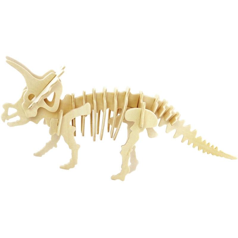 Aliexpress.com: Comprar DIY 3D animales de madera esqueleto de ...