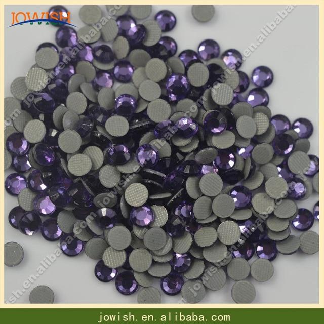 SS10 Tanzanite Korean rhinestone 500 gross   bag applique heat transfers  stone hotfix flatback for dress c3585ff69d99