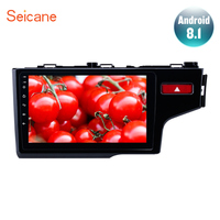 Seicane 10.1 Android 8.1 2 DIN Car Auto Stereo For 2014 2015 HONDA JAZZ FIT Right Hand Drive Radio GPS Multimedia Player wifi