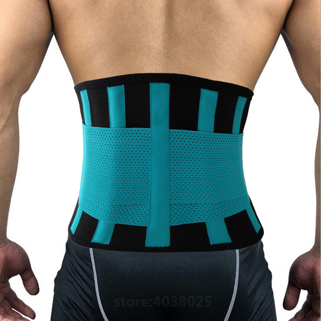 Lumbar Back Spinal Spine Waist Brace Support Belt Corset Stabilizer Cincher Tummy Trimmer Trainer Weight Loss Slimming Belt Men