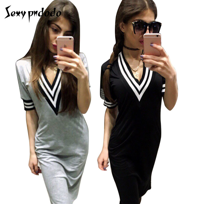 Girls Bodycon Short T Shirt Mini Dress Package Hips Comfortable Women Dresses Fashion Women Clothing Casual Ladies Printed Dress