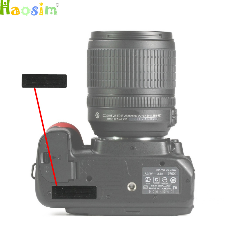For Nikon D600 D610 D7000 D7100 D800 The Thumb Rubber Back Cover Rubber DSLR Camera Replacement Unit Repair Part