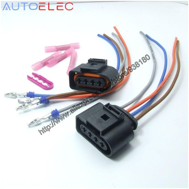 US $2.95 |2Pcs 1J0973724 4Pin Wiring harness with 8Pcs BHT1.25 Heat on