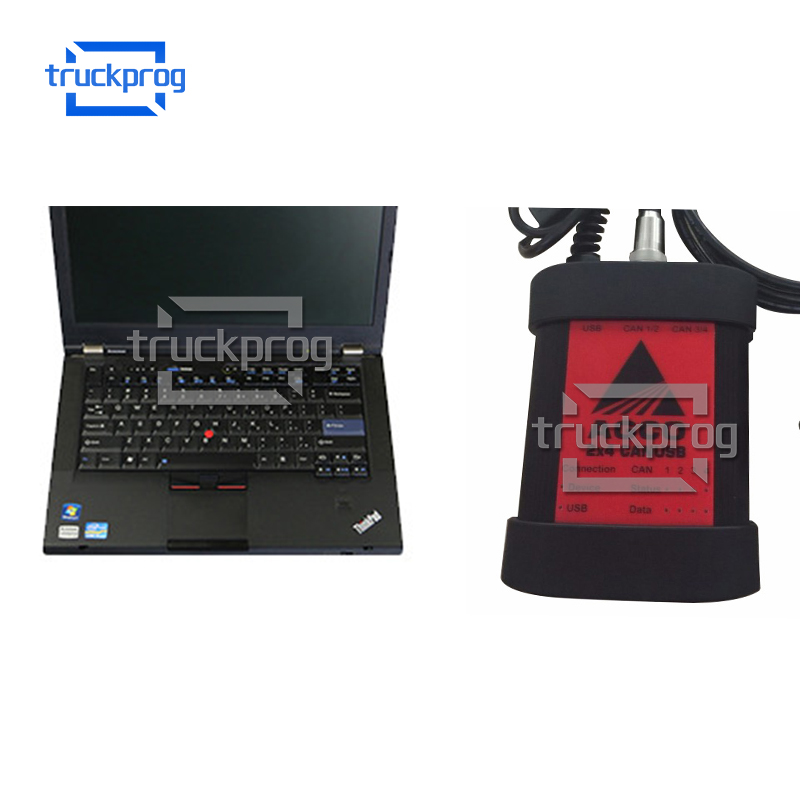 Full Set For AGCO CANUSB EDT InterfaceT420 Laptop Electronic Diagnostic Tool Heavy Duty Agricultural Diagnosis Scanner