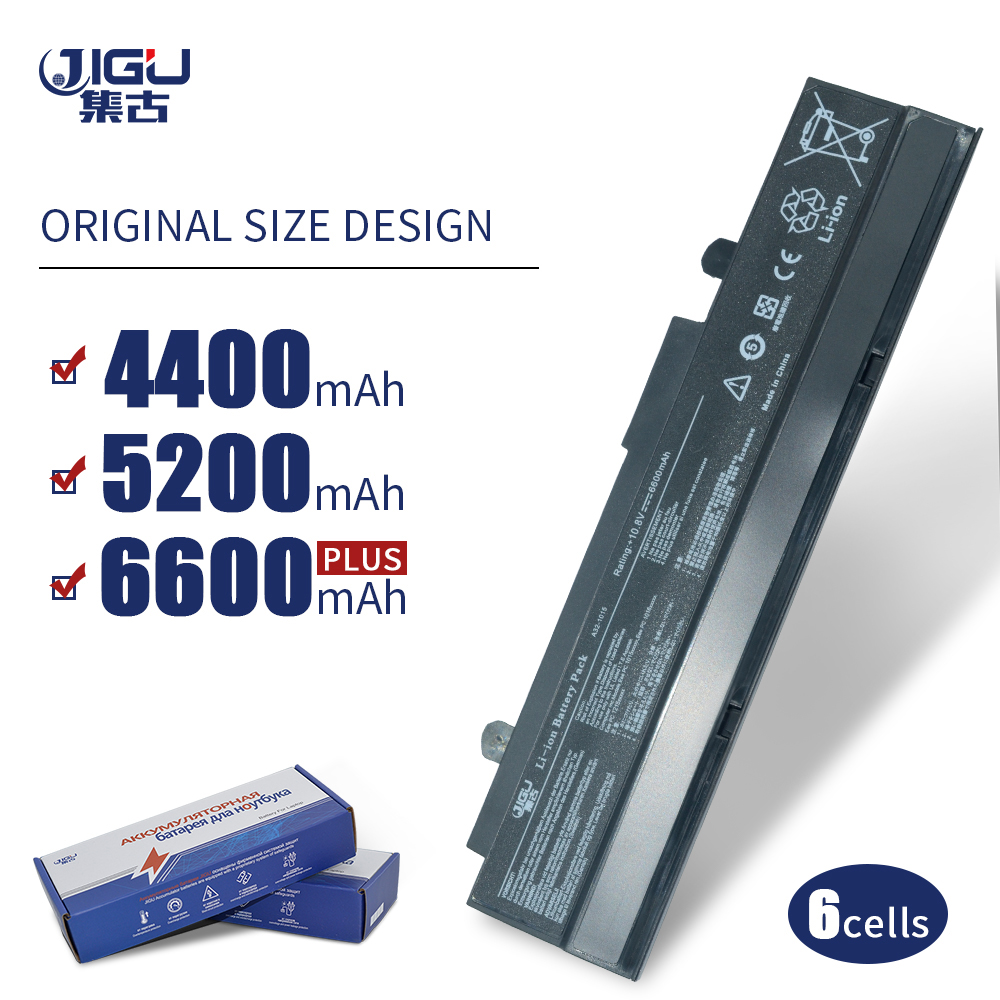 JIGU 6 Cell Laptop Battery A31-1015 A32-1015 AL31-1015 PL32-1015 For Asus Eee PC 1011 1011BX 1015PDG 1015PDT 1016PED 1215PX