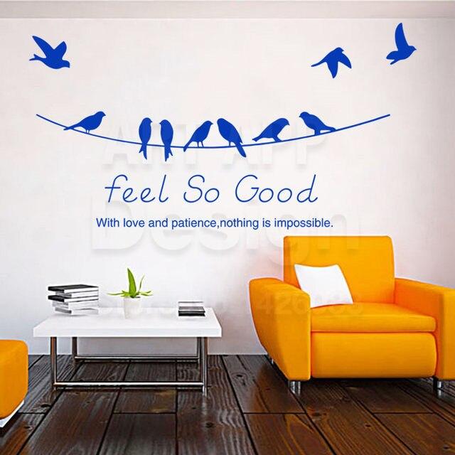 online shop art new design home decor vinyl love words wall stickers
