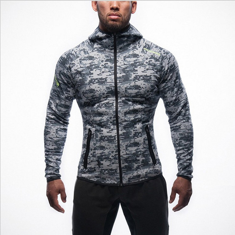 Men Running Jacket Sweaters Fitness Exercise Outdoor Sports Soccer Football Gym Jogging Jogger Jackets