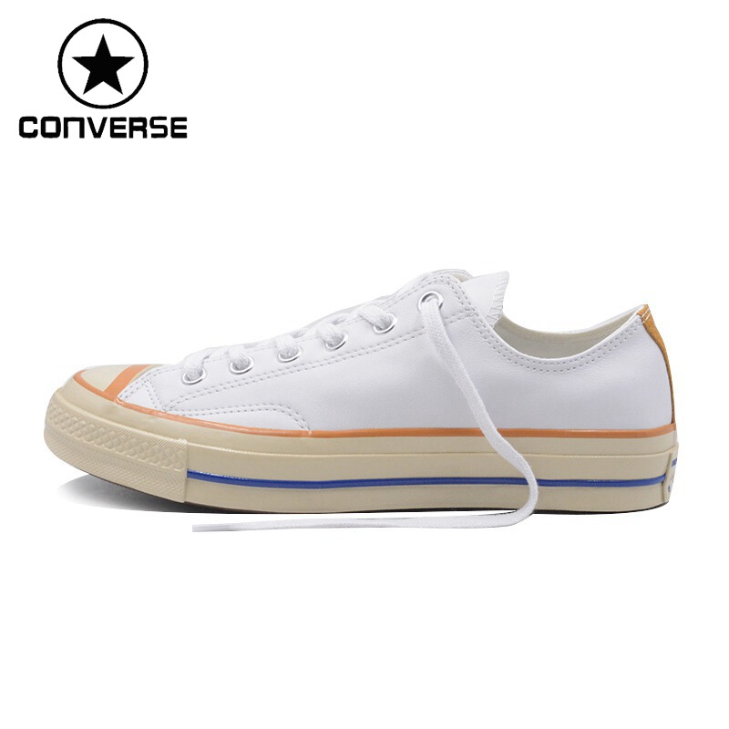 Original New Arrival 2018 Converse Chuck 70 Unisex Leather Skateboarding Shoes Canvas Sneakers original new arrival 2017 converse men s skateboarding shoes leather sneakers