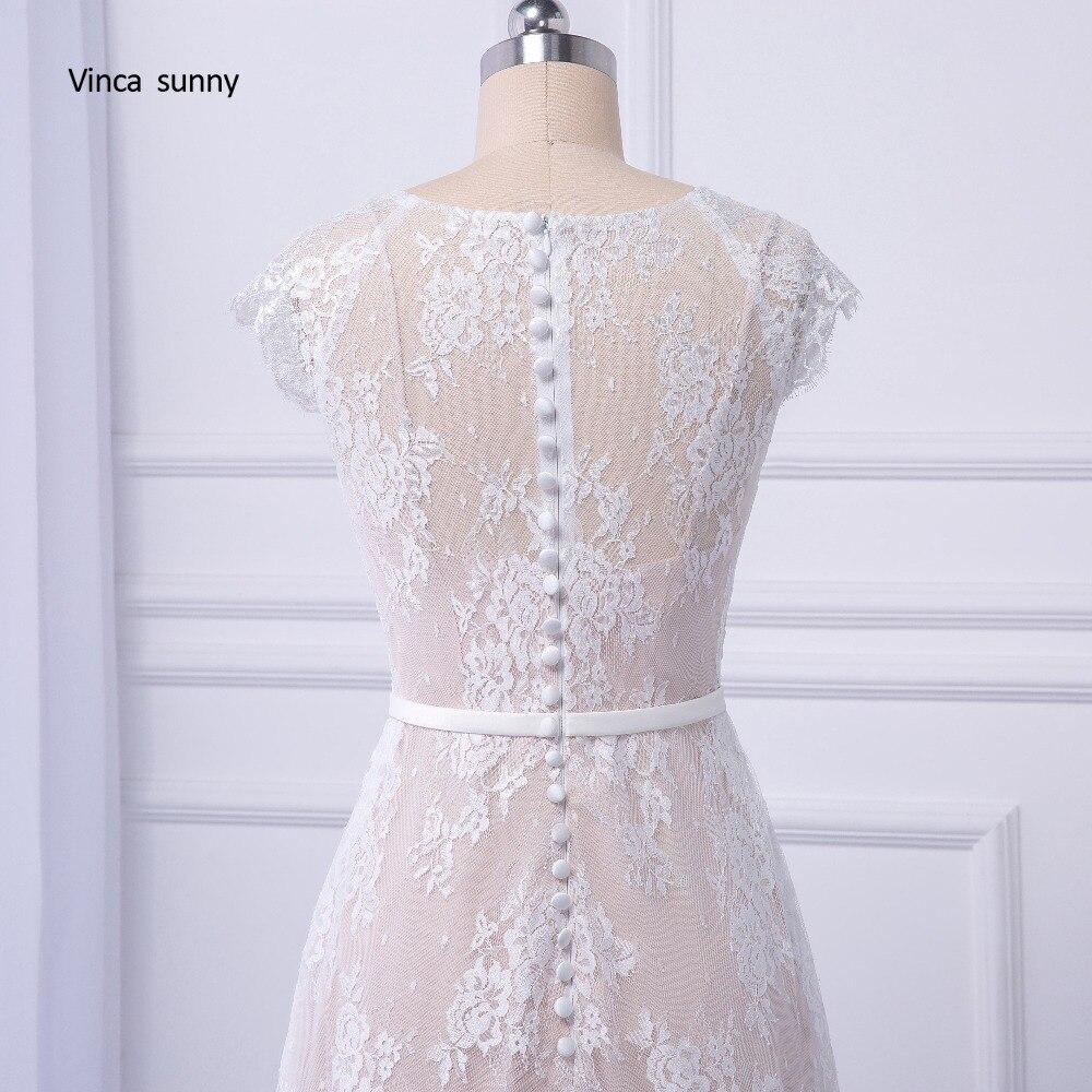 Vinca sunny 2018 Braut Boho Spitze Hochzeit Kleid 2018 Brautkleider ...