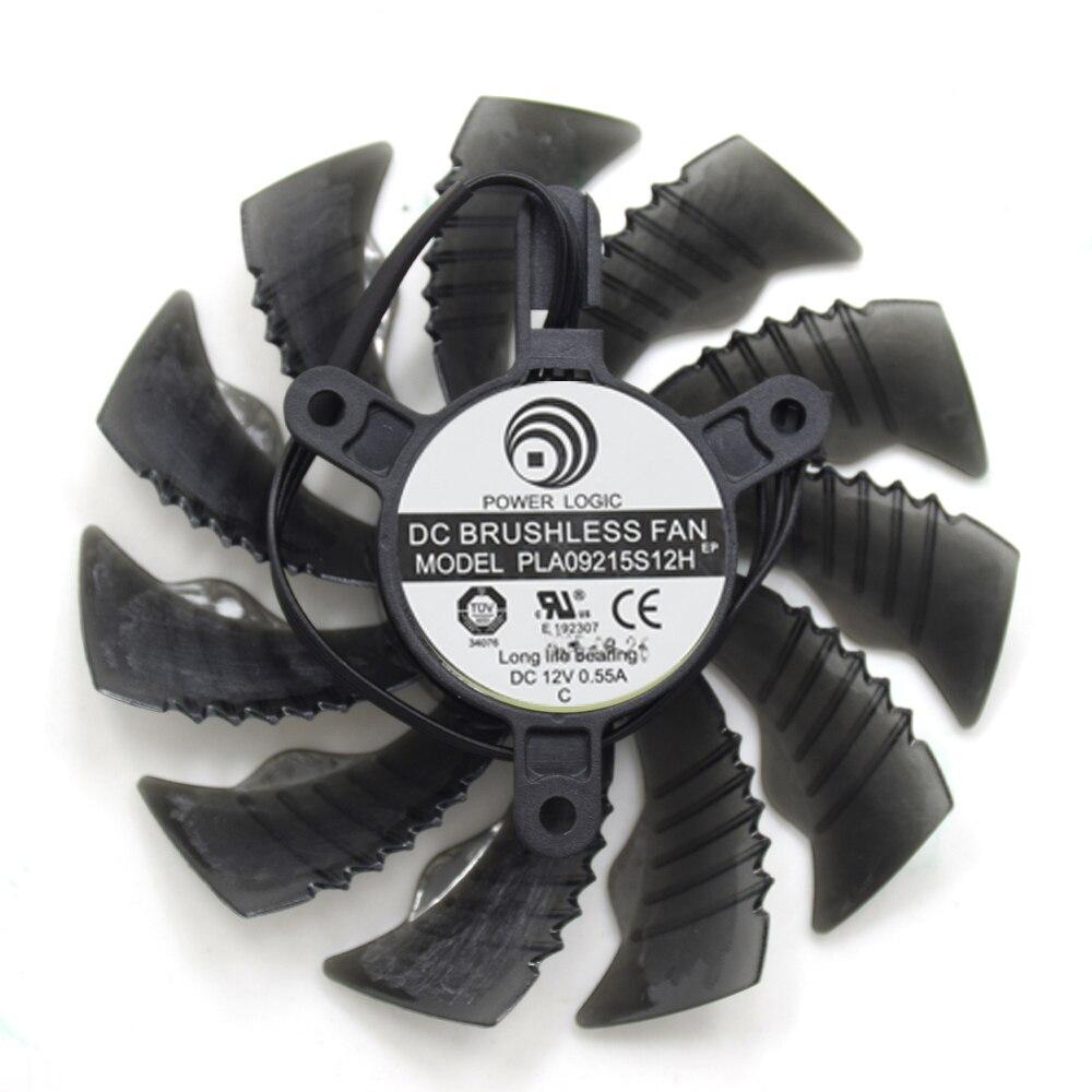 Nueva PLA09215S12H 87mm 4Pin ventilador de refrigeración reemplazar para Gigabyte GTX 950 960 R7 360 R9 390 GTX 1060 1050TI tarjeta gráfica refrigerador ventilador