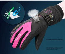 GLV800 Warm winter ski font b gloves b font prevent slippery wear resisting men and women