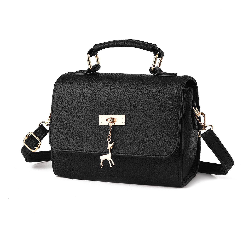 The New Fashion Style Korean Version of The Leather Shoulder Bag Single Shoulder Bag Lady Handbag.Crossbody package