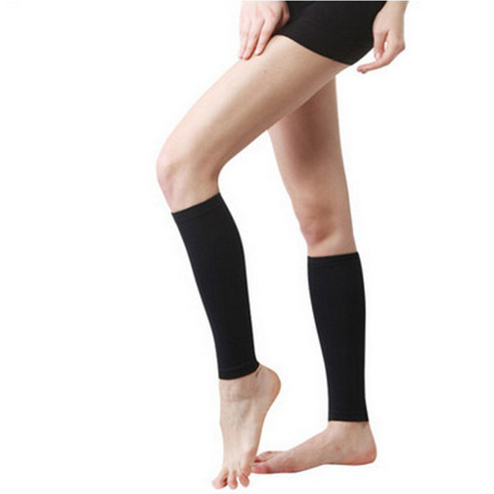 Calf Compression Socks Women Men High Elastic Calf Protection Thigh Bands Leg Sport Warmers Unisex Beenwarmers Sock